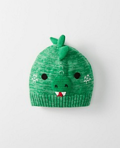 Kids Who's That Cotton Beanie by Hanna Andersson