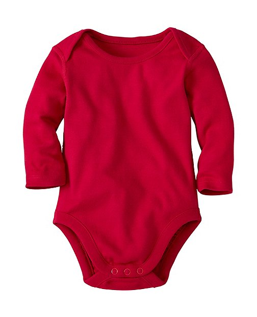 Baby Lap Shoulder One Piece In Organic Cotton by Hanna Andersson