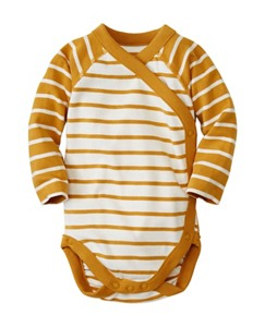 Baby Crossover One Piece In Organic Cotton by Hanna Andersson