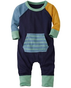 Color Happy Romper in Organic Cotton by Hanna Andersson