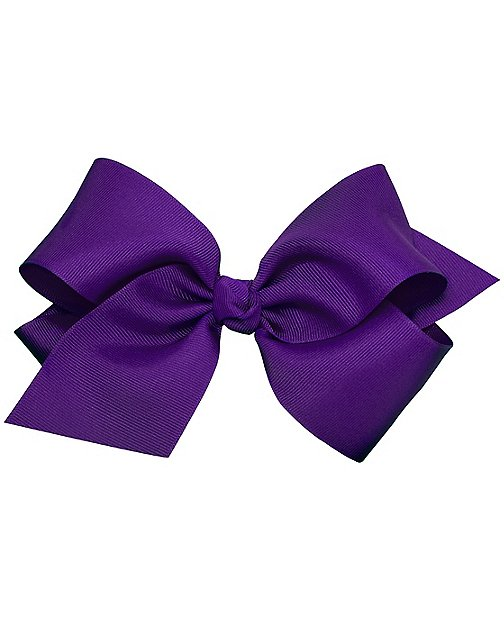 Girls Really Big Ribbon Bow Clip by Hanna Andersson