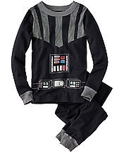 Kids Star Wars™ Glow In The Dark Long John Pajamas In Organic Cotton  by Hanna Andersson