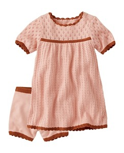 Baby Silk-Touched Sweater Dress Set by Hanna Andersson
