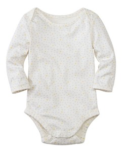 Baby Lap Shoulder One Piece In Organic Pima Cotton by Hanna Andersson