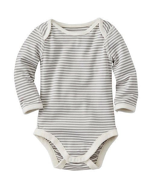 Lap Shoulder One Piece In Organic Pima Cotton by Hanna Andersson