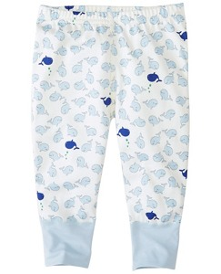 Baby Wiggle Pants In Organic Pima Cotton by Hanna Andersson