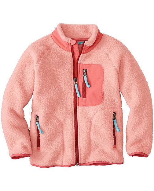 Kids Headed Out Sherpa Jacket by Hanna Andersson