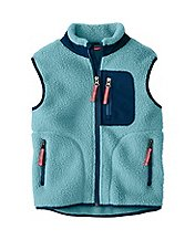 Kids Headed Out Sherpa Vest by Hanna Andersson