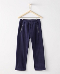 Kids Microfleece Slim Pants by Hanna Andersson