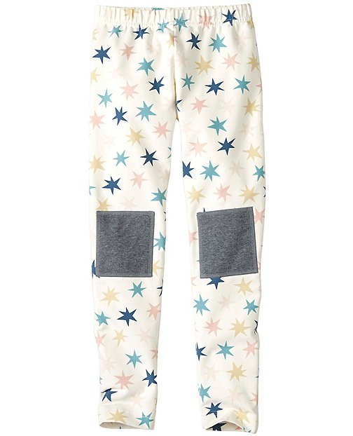 Girls Knee Patch Leggings by Hanna Andersson