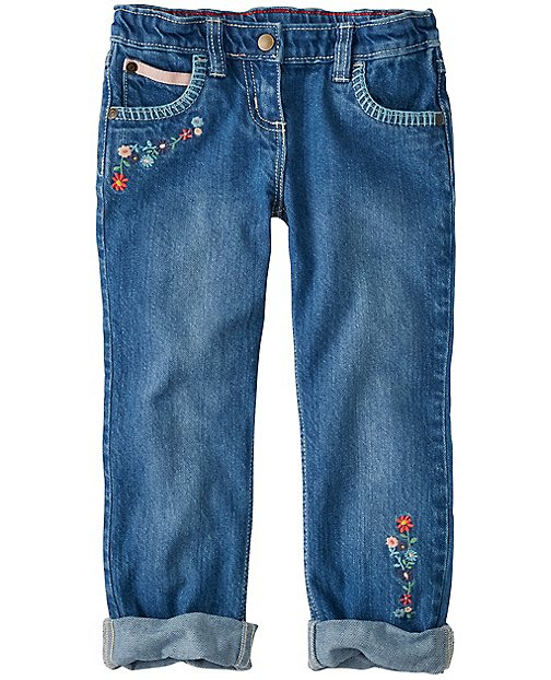Girls Not Old Enough For A Boyfriend Jeans by Hanna Andersson