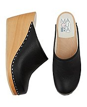 Women Swedish Wedge Clogs by Maguba