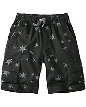 Boys Clubhouse Cargo Shorts In Washed Cotton by Hanna Andersson