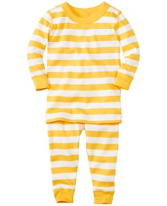 Toddler Long John Pajamas In Organic Cotton by Hanna Andersson