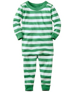 Baby Long John Pajamas In Organic Cotton by Hanna Andersson