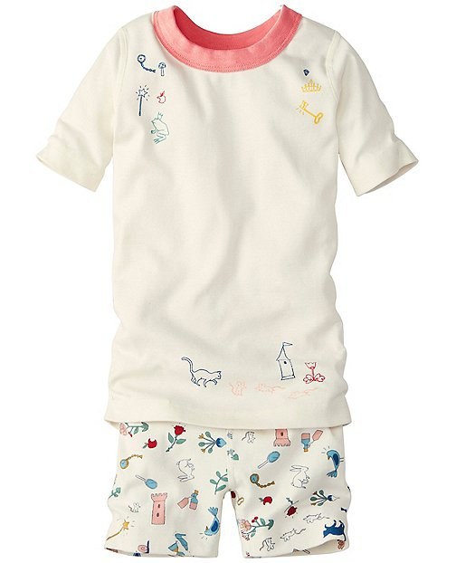 Girls Short John Pajamas In Organic Cotton by Hanna Andersson