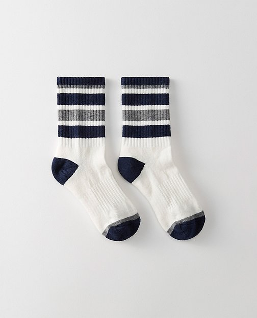 Kids Sport Crew Socks by Hanna Andersson