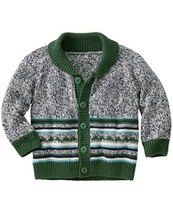 Little Guy Cardigan by Hanna Andersson
