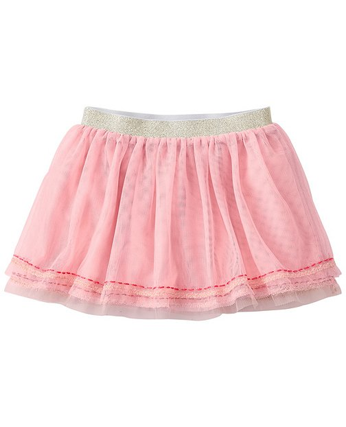 Baby Twirl Happy Tulle Skirt by Hanna Andersson