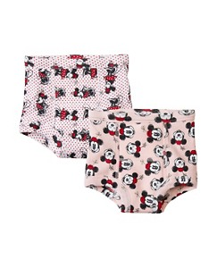 Girls Disney Minnie Mouse Training Unders 2 Pack In Organic Cotton by Hanna Andersson