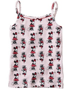 Girls Disney Minnie Mouse Camisole In Organic Cotton by Hanna Andersson