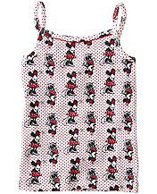 Disney Minnie Mouse Camisole In Organic Cotton by Hanna Andersson