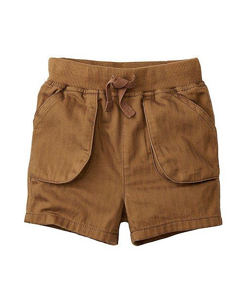 Baby All Smiles Cargo Shorts by Hanna Andersson