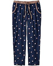 Love, Hanna Pima Cropped PJ Pant by Hanna Andersson
