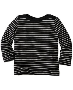 Simply Stripey Boatneck Tee by Hanna Andersson