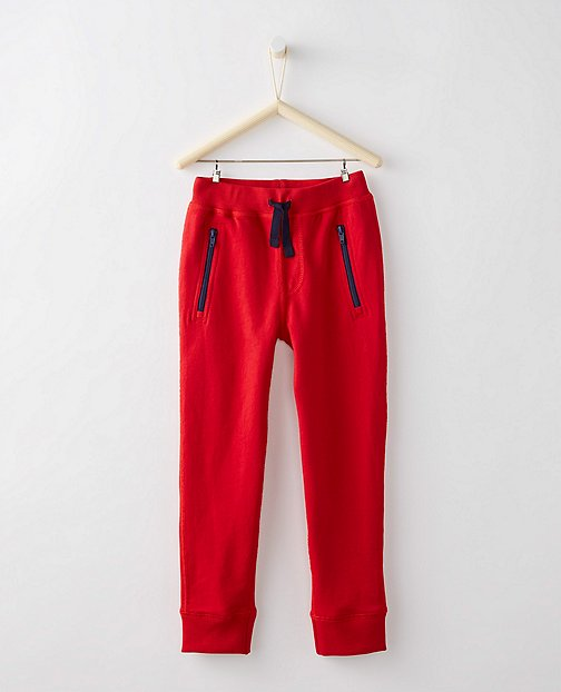 Boys Slim Sweats In 100% Cotton by Hanna Andersson