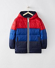 Kids Our Warmest Reversible Down Jacket by Hanna Andersson
