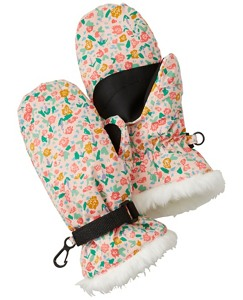 Girls Journey's End Insulated Mittens by Hanna Andersson