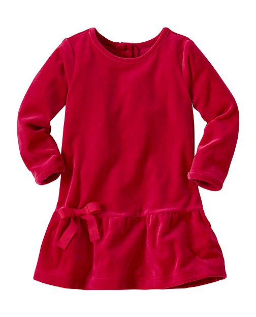 Baby Softest Velour Dress by Hanna Andersson
