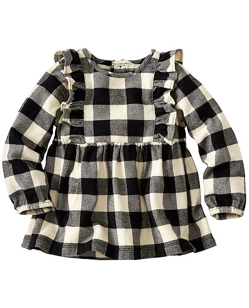 Baby Buffalo Check Popover In Supersoft Flannel by Hanna Andersson