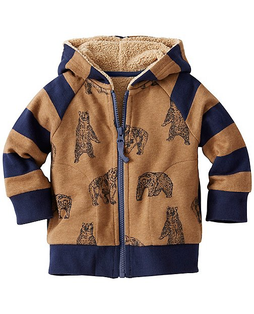 Baby Supercozy Fleece Lined Hoodie by Hanna Andersson