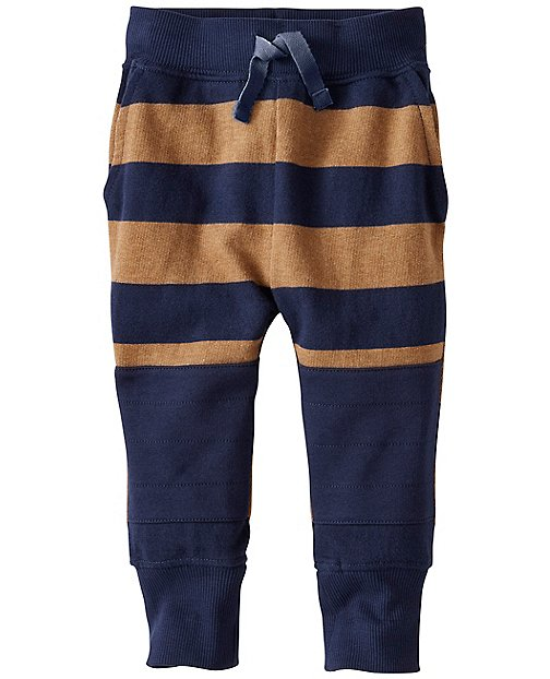 Baby Knee Patch Sweats In 100% Cotton by Hanna Andersson