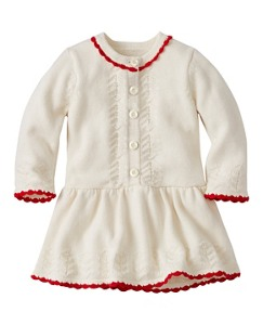 Baby Cozy Cotton & Cashmere Sweater Dress by Hanna Andersson