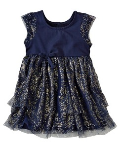 Baby Soft Glitter Dress by Hanna Andersson