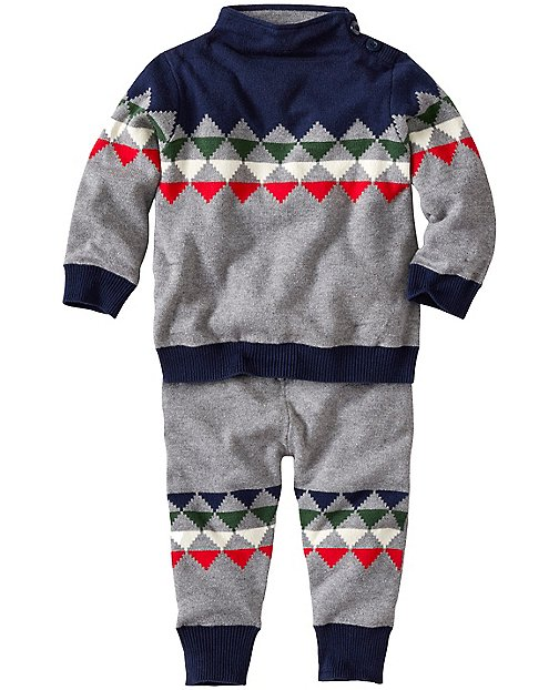 Baby Nordic Ski Sweater Set by Hanna Andersson