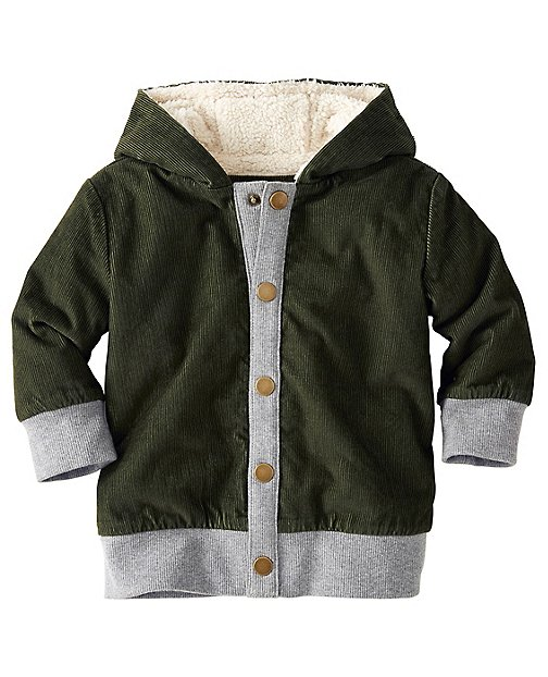 Baby Sherpa Lined Cord Jacket by Hanna Andersson