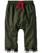 Baby Cozy Flannel Lined Pants by Hanna Andersson