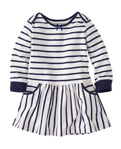 Toddler Mariner Dress In French Terry by Hanna Andersson