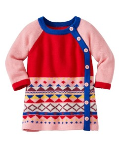 Baby All Is Bright Sweater Dress by Hanna Andersson