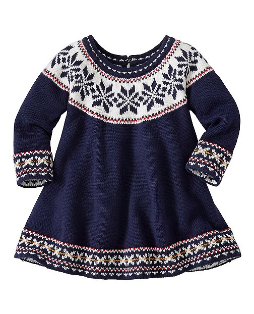 Baby Up North Sweater Dress by Hanna Andersson