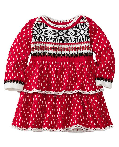 Baby Snö Happy Sweater Dress by Hanna Andersson