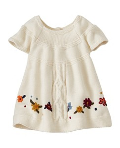 Baby Cable Cozy Sweater Dress by Hanna Andersson