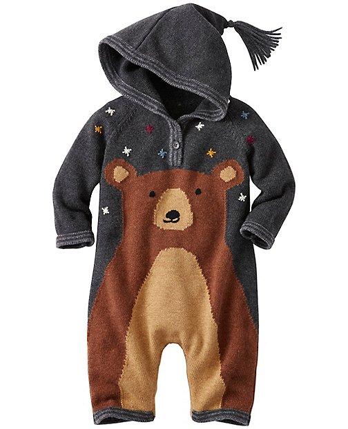 Baby Bear Hugs Hoodie Romper by Hanna Andersson