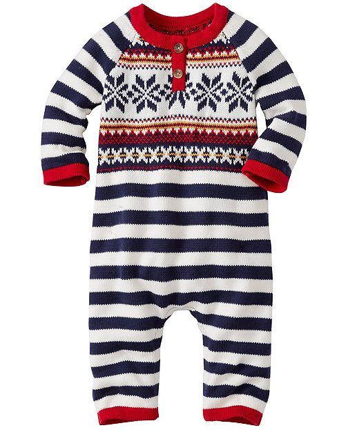 Baby Up North Sweater Romper by Hanna Andersson
