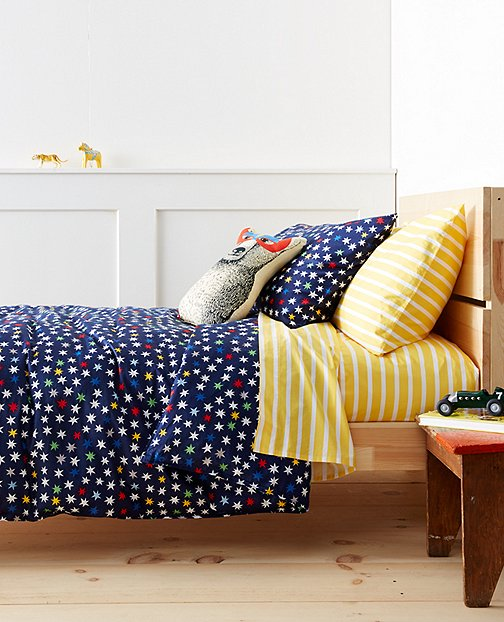 HannaSoft™ Starry Starry Bright Duvet Cover by Hanna Andersson