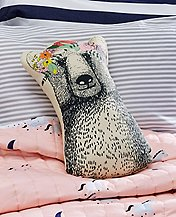 Sweet Laurel Bear Pillow by Hanna Andersson